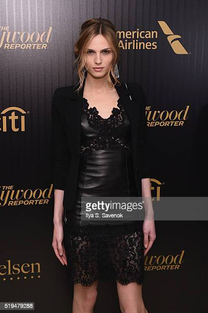 Model Andreja Pejic attends the Hollywood Reporter's 2016 35 Most Powerful People in Media at Four Seasons Restaurant on April 6 2016 in New York City