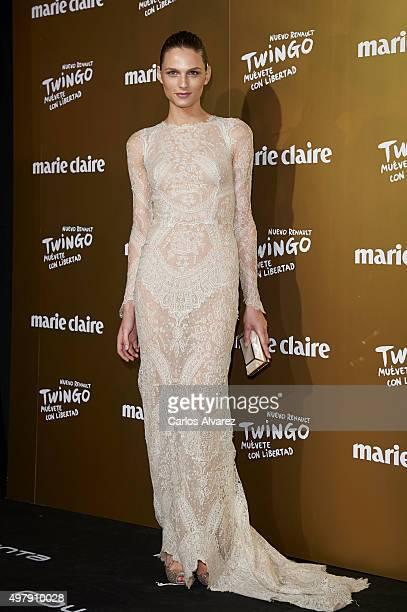 Model Andreja Pejic attends the Marie Claire Prix de la Moda 2015 at the Callao cinema on November 19 2015 in Madrid Spain