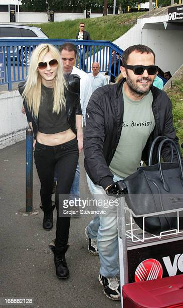 Model Andreja Pejic sighted on May 16 2013 in Belgrade Serbia
