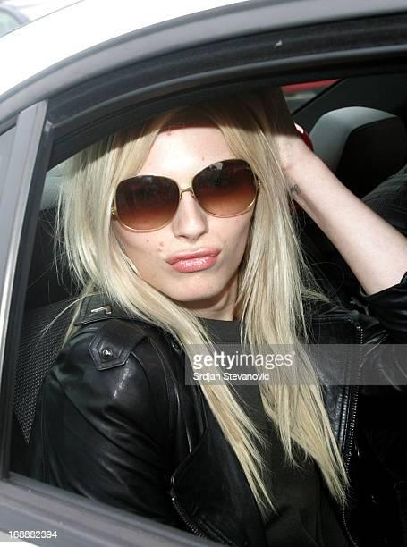 Model Andreja Pejic sighted on May 16 2013 in Belgrade Serbia