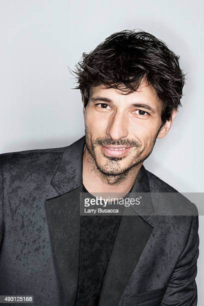 Model Andres Velencoso attends The Daily Front Row's Third Annual Fashion Media Awards at the Park Hyatt New York on September 10 2015 in New York...