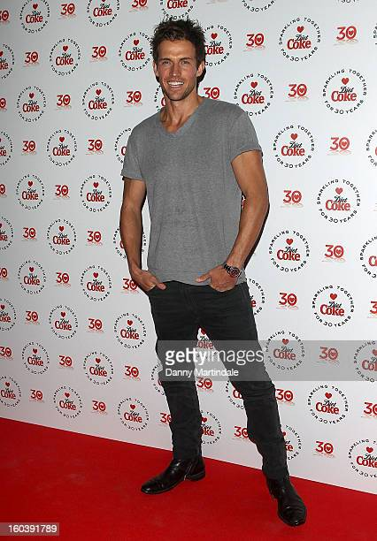 Model Andrew Cooper attends a party hosted by Diet Coke at Sketch on January 30 2013 in London England