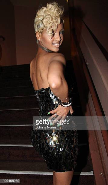 Model Angel Lola Luv attends BET's Rip the Runway 2011 at The Manhattan Center on February 26 2011 in New York City