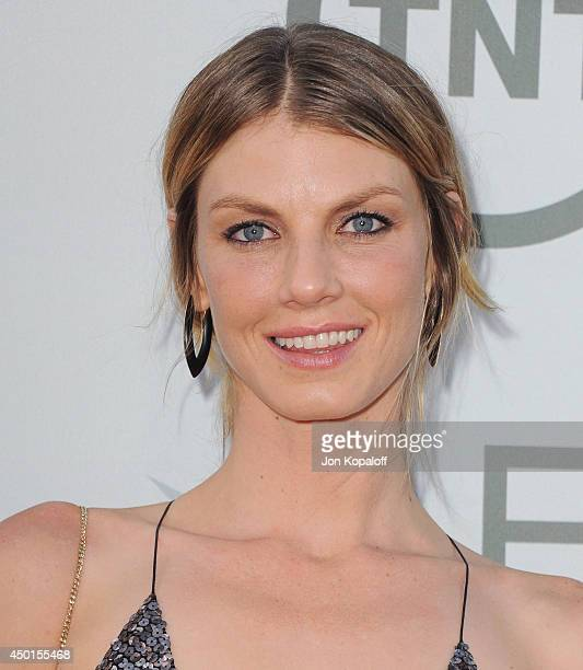 Model Angela Lindvall arrives at the 2014 AFI Life Achievement Award Gala Tribute at Dolby Theatre on June 5 2014 in Hollywood California