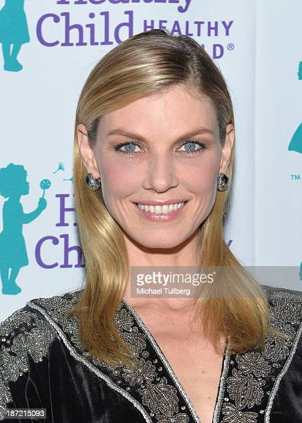 Model Angela Lindvall attends Mom On A Mission's 5th Annual Awards and Gala on November 6 2013 in Pacific Palisades California