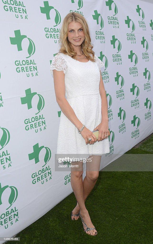 16th Annual Global Green USA Millennium Awards : News Photo