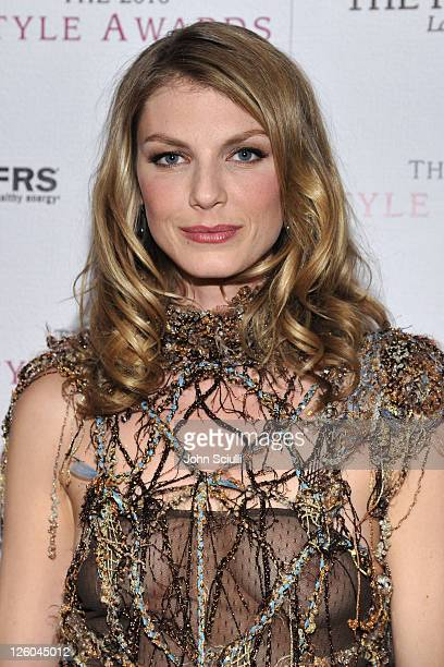 Model Angela Lindvall attends the 2010 Hollywood Style Awards with The Palazzo Las Vegas Klipsch and FRS Healthy Energy at the Hammer Museum on...