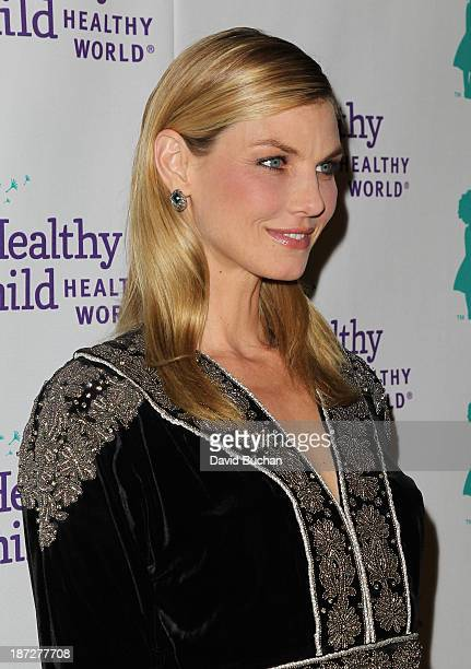 Model Angela Lindvall attends the Mom On A Mission's 5th Annual Awards Gala on November 6 2013 in Pacific Palisades California