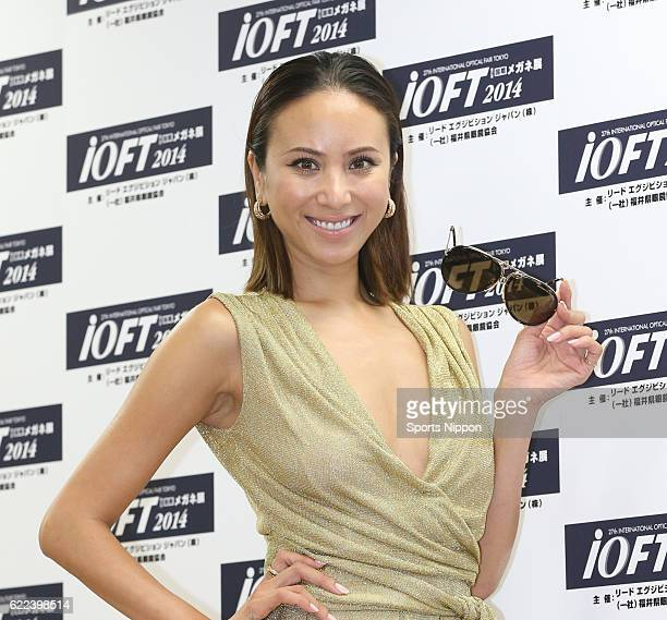 Model Angelica Michibata attends the 27th Japan Best Dressed Eyes Awards Presentation Ceremony on October 20 2014 in Tokyo Japan