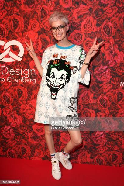 Model Anika Scheibe during the charity shopping night at CE design store on May 31 2017 in Munich Germany