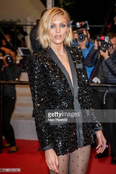 """Model Anja Rubik attends the screening of """"Lux Aetterna"""" during the 72nd annual Cannes Film Festival on May 18, 2019 in Cannes, France."""