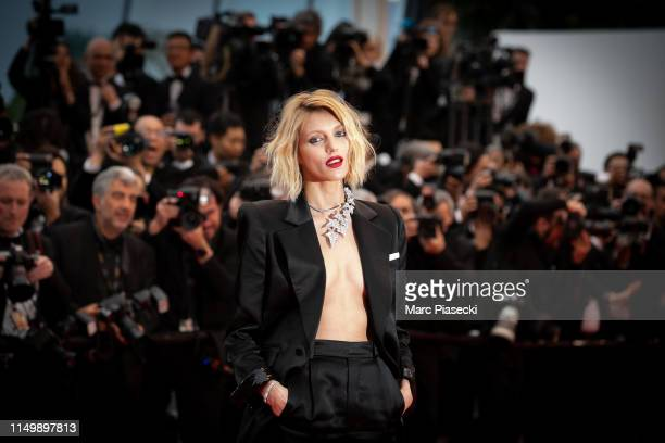 Model Anja Rubik attends the screening of Pain And Glory during the 72nd annual Cannes Film Festival on May 17 2019 in Cannes France