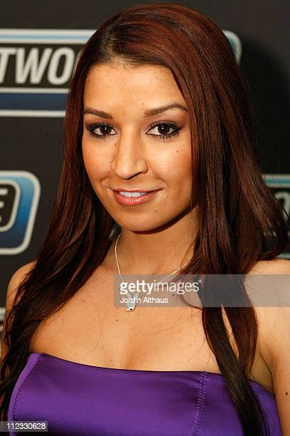 Model Ann Marie Rios attends the 51st Annual GRAMMY Awards Westwood One Radio Remotes Day 2 held at the Staples Center on February 6 2009 in Los...