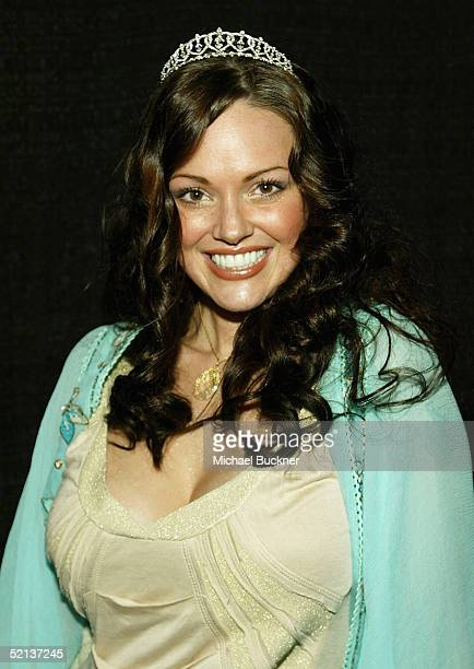 Model Anna Benson attends her birthday bash and Lingerie Bowl Party at Shelter on February 4 2005 in Los Angeles California