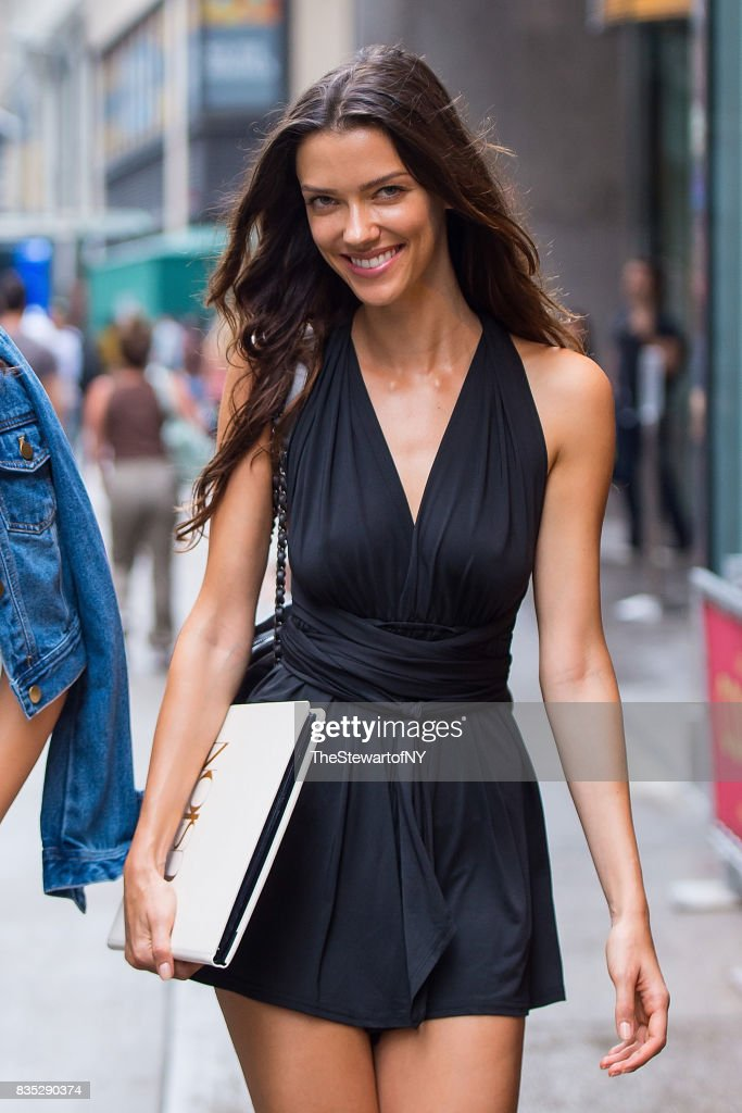 Model Anna Christina Schwartz attends casting for the 2017 Victoria's Secret Fashion Show in Midtown on August 18, 2017 in New York City.