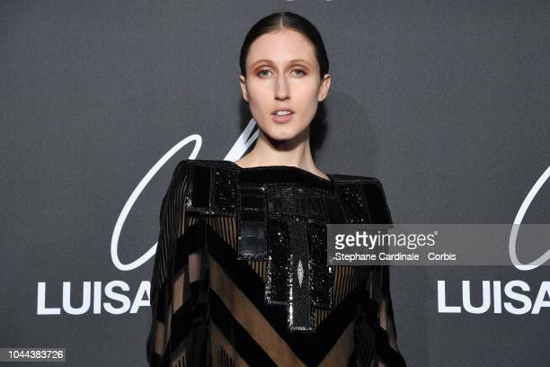 Model Anna Cleveland attends the CR Fashion Book x LuisaViaRoma Photocall as part of the Paris Fashion Week Womenswear Spring/Summer 2019 on October...