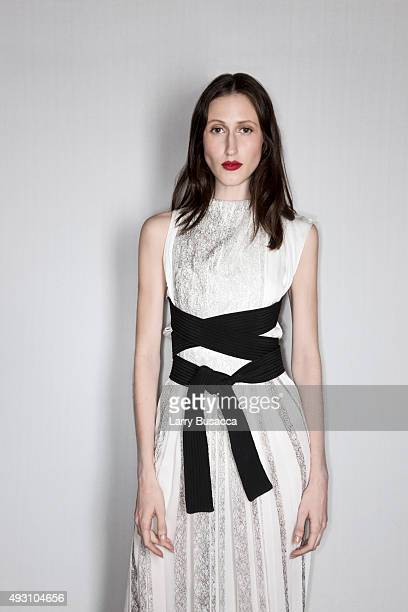 Model Anna Cleveland attends The Daily Front Row's Third Annual Fashion Media Awards at the Park Hyatt New York on September 10 2015 in New York City