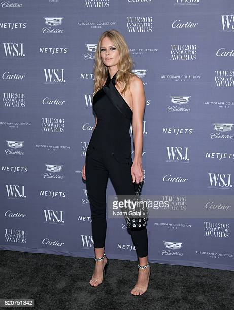 Model Anna Ewers attends the WSJ Magazine Innovator Awards at Museum of Modern Art on November 2 2016 in New York City