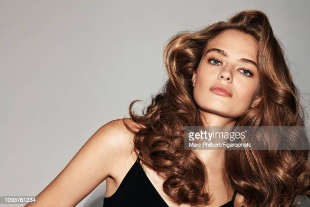 Model Anna Mila poses at a beauty shoot for Madame Figaro on October 12, 2018 in Paris, France. Body . PUBLISHED IMAGE. CREDIT MUST READ: Marc...