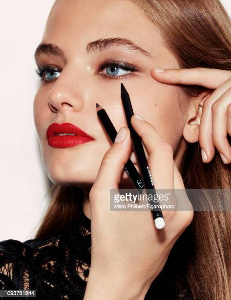 Model Anna Mila poses at a beauty shoot for Madame Figaro on October 12 2018 in Paris France CREDIT MUST READ Marc Philbert/Figarophoto/Contour RA