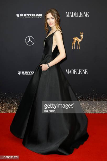 Model Anna Wilken arrives for the 71st Bambi Awards at Festspielhaus BadenBaden on November 16 2019 in BadenBaden Germany