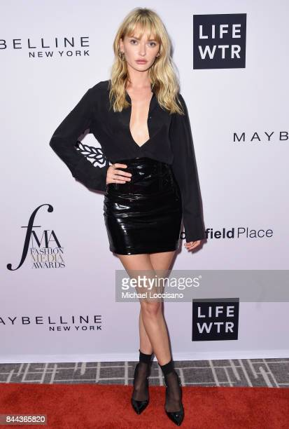 Model Annabella Barber attends the Daily Front Row's Fashion Media Awards at Four Seasons Hotel New York Downtown on September 8 2017 in New York City