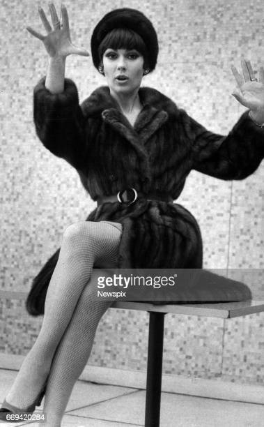 MELBOURNE VIC Model Anne Hamilton of South Yarra joined the yoyo craze at the Southern Cross Hotel in her mink coat in Melbourne Victoria
