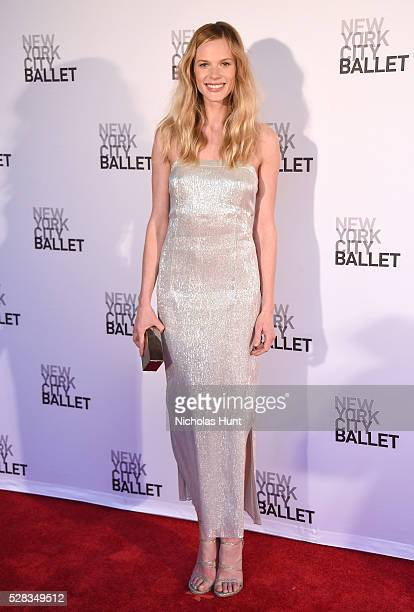 Model Anne V attends New York City Ballet's Spring Gala at David H Koch Theater at Lincoln Center on May 4 2016 in New York City