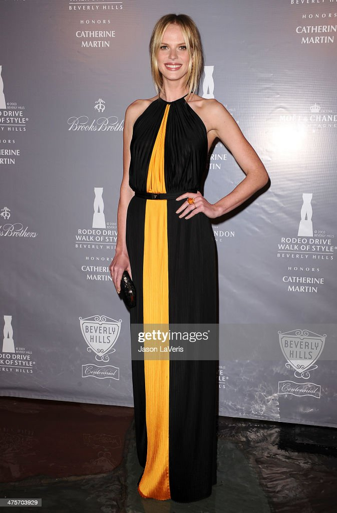 Rodeo Drive Walk Of Style Awards Ceremony Honoring Oscar-Nominee Catherine Martin