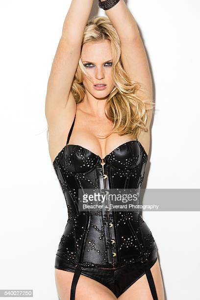 Model Anne V is photographed for GQ Mexico on January 16 2013 in New York City PUBLISHED IMAGE