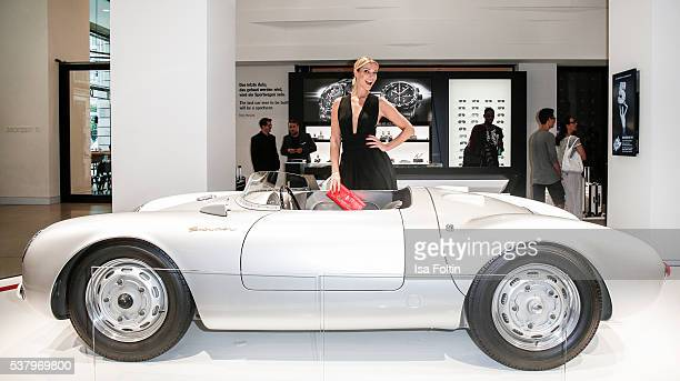 Model Annika Gassner attends the 5th Nachtschicht - Berlin Design Night on June 3, 2016 in Berlin, Germany.
