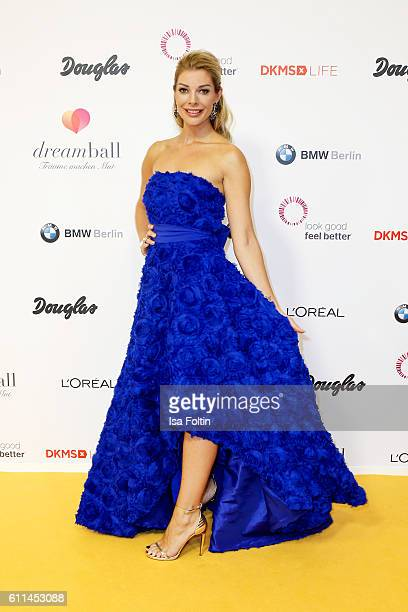 Model Annika Gassner attends the Dreamball 2016 at Ritz Carlton on September 29, 2016 in Berlin, Germany.