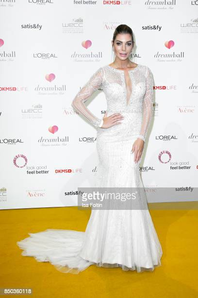 Model Annika Gassner attends the Dreamball 2017 at Westhafen Event & Convention Center on September 20, 2017 in Berlin, Germany.
