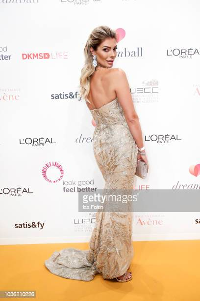 Model Annika Gassner attends the Dreamball 2018 at WECC Westhafen Event & Convention Center on September 19, 2018 in Berlin, Germany.