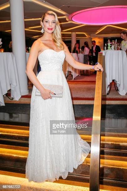 Model Annika Gassner attends the Kempinski Fashion Dinner on May 23, 2017 in Munich, Germany.
