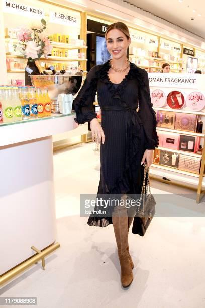 Model AnnKathrin Goetze AnnKathrin Broemmel attends the Douglas FlagshipStore Opening on October 30 2019 in Berlin Germany