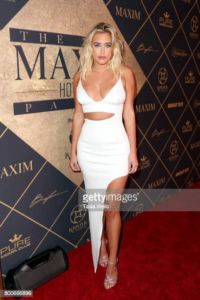 Model Antje Utgaard attends the 2017 MAXIM Hot 100 Party at Hollywood Palladium on June 24 2017 in Los Angeles California