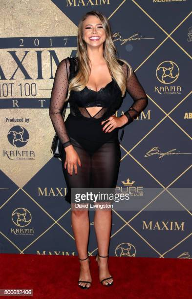 Model Antje Utgaard attends The 2017 MAXIM Hot 100 Party produced by Karma International at The Hollywood Palladium in celebration of MAXIMÕs Hot 100...