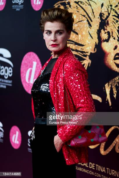 Model Antonia Dell'Ate at the VIP premiere of 'Tina, The Musical' at the Teatro Coliseum de Gran Via, on 30 September, 2021 in Madrid, Spain. This...