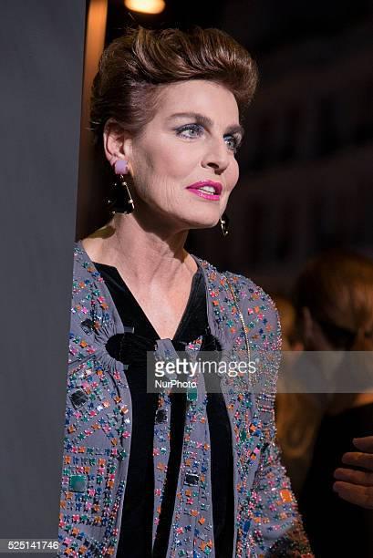 Model Antonia Dell'Atte attends the Marie Claire Prix de la Moda 2015 at the Callao cinema on November 19 2015 in Madrid Spain