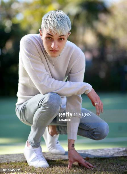 SYDNEY NSW Model Anwar Hadid poses during a photo shoot ahead of the David Jones Spring/Summer Collection launch in Sydney New South Wales