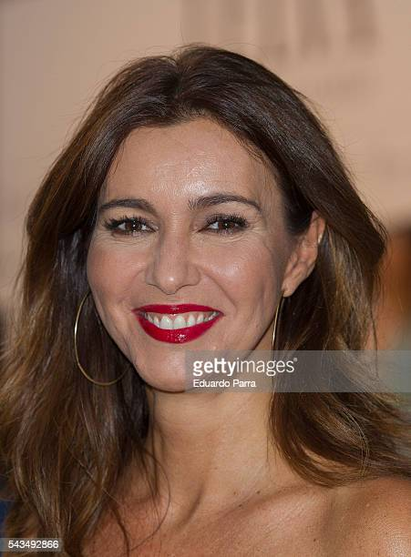 Model Arancha del Sol attends the 'La moda en la calle' fashion show at Royal Theatre on June 28 2016 in Madrid Spain
