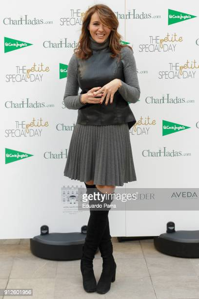 Model Arancha del Sol attends the 'The Petite Special Day' photocall at Santo Mauro hotel on January 31 2018 in Madrid Spain