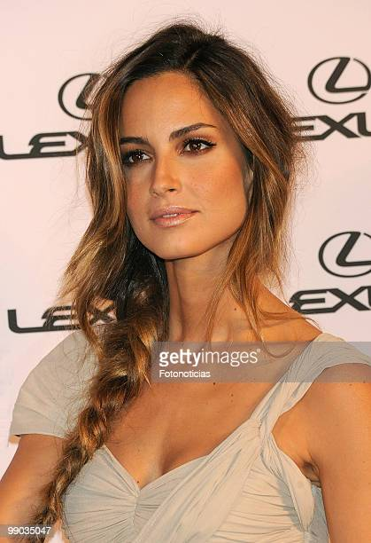 Model Ariadne Artiles attends a 'Lexus' party hosted by Bar Refaeli at the Villamagna Hotel on May 11 2010 in Madrid Spain