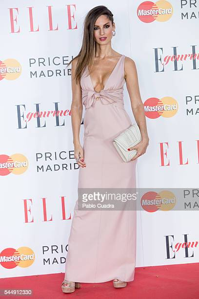 Model Ariadne Artiles attends 'Elle Gourmet' Awards 2016 party at the Italian Embassy on July 4 2016 in Madrid Spain
