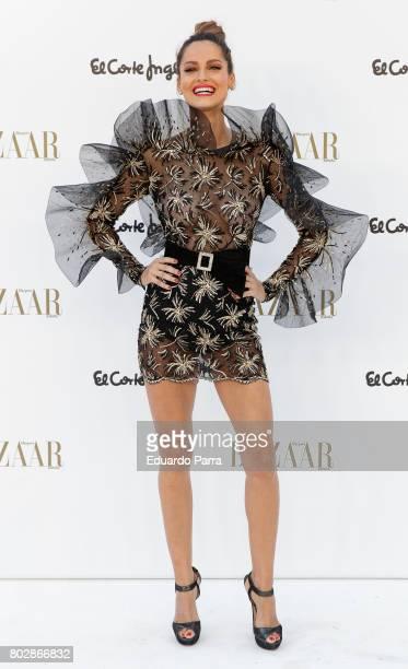 Model Ariadne Artiles attends the 'Harper's Bazaar summer party' photocall at Casa de Velazquez on June 28 2017 in Madrid Spain