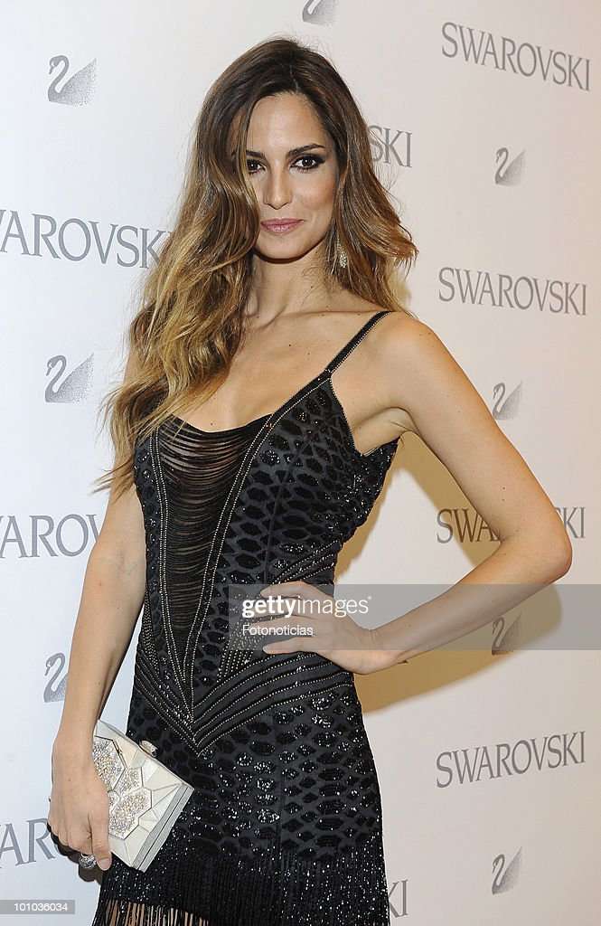Model Ariadne Artiles attends the opening of the new Swarovski boutique on Gran Via street on May 27, 2010 in Madrid, Spain.