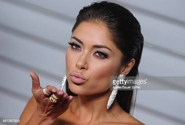 Model Arianny Celeste arrives at the MAXIM Hot 100 Celebration Event at Pacific Design Center on June 10 2014 in West Hollywood California