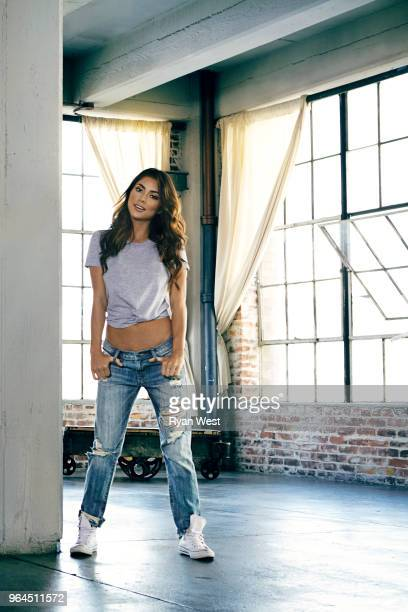 Model Arianny Celeste is photographed in February 2015 in Los Angeles California