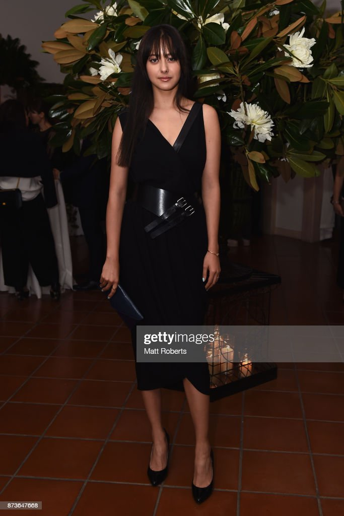 Model Arisa Urahama attends the Michael Kors And Vogue Japan Celebrate Kate Hudson's Work With Watch Hunger Stop In Support Of The World Food Programme on November 13, 2017 in Tokyo, Japan.